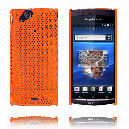 Image of   Atomic (Orange) Sony Ericsson Xperia Arc Cover