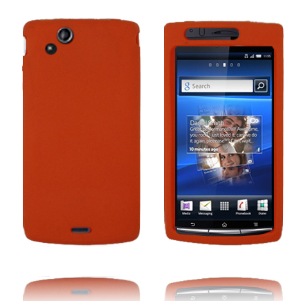 Image of   Full Soft Shell (Orange) Sony Ericsson Xperia Arc Cover