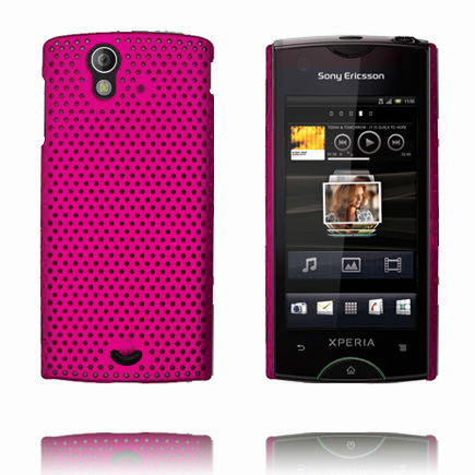 Image of   Atomic (Hot Pink) Sony Ericsson Xperia Ray Cover