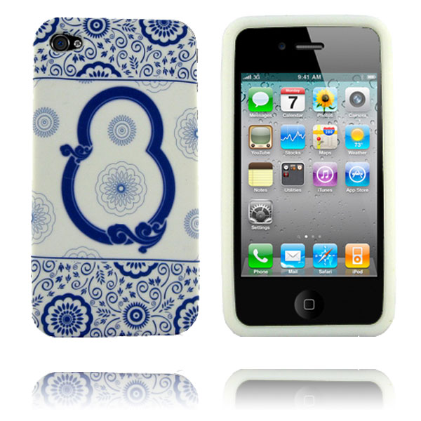 Porcelain (Design 7) iPhone 4 Cover