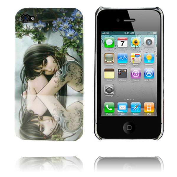 Ghost Woman (nr.9) iPhone 4 Cover