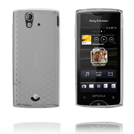 Image of   Cubes (Transparent) Sony Ericsson Xperia Ray Cover