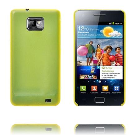 Slim Serie (Gul) Samsung Galaxy S2 Cover
