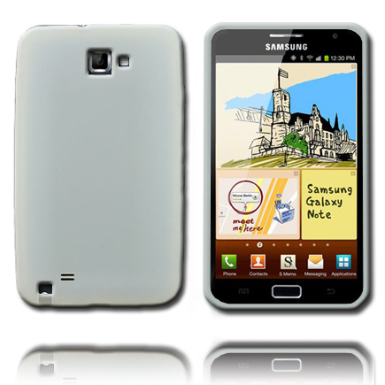 Soft Shell (Hvid) Samsung Galaxy Note Cover