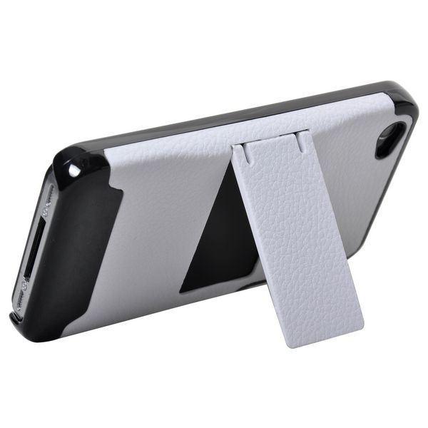 the best attitude d10d9 837b5 Image of A-type Holder - Sort Kant (Hvid) iPhone 4 Cover