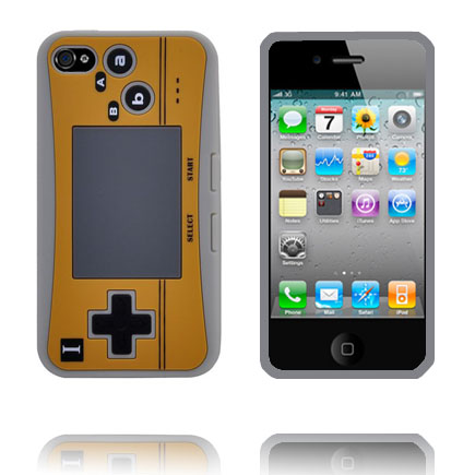 Image of   4S Game Pad Case (Grå) iPhone 4S Cover
