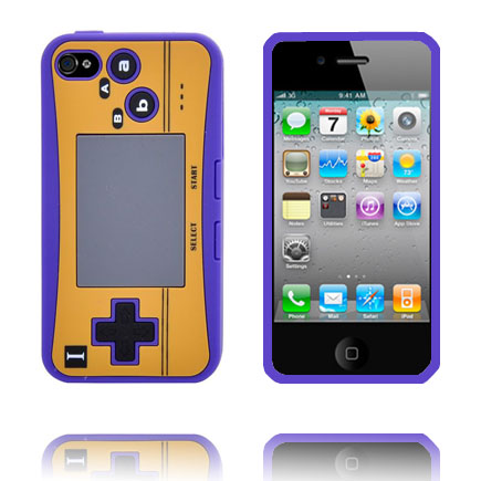 Image of   4S Game Pad Case (Lilla) iPhone 4S Cover
