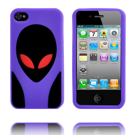 Image of   Alien Invasion (Lilla) iPhone 4S Cover