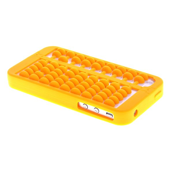 Abacus (Gul) iPhone 4/4S Cover