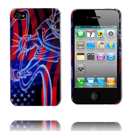 Image of   4S RETRO CASE (US Liberty) iPhone 4S Cover