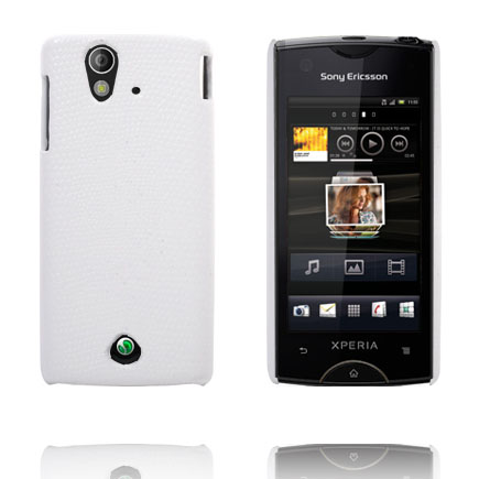 Image of   Croco (Hvid) Sony Ericsson Xperia Ray Cover