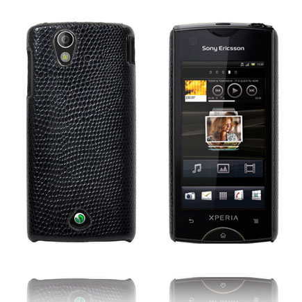Image of   Croco (Sort) Sony Ericsson Xperia Ray Cover