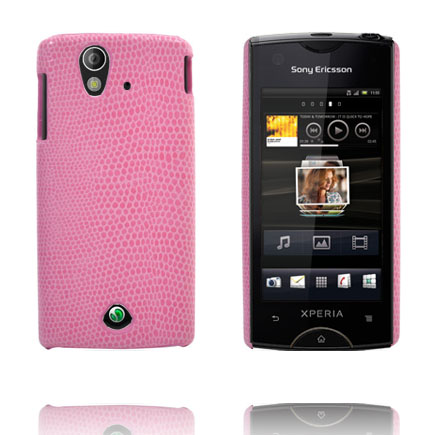 Image of   Croco (Pink) Sony Ericsson Xperia Ray Cover