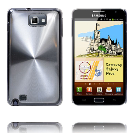 Image of   Aluminium Shield (Sølv) Samsung Galaxy Note Cover