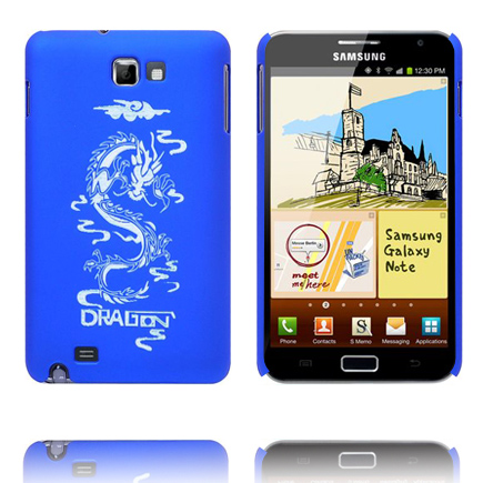 Sprød Drage (Blå) Samsung Galaxy Note Cover