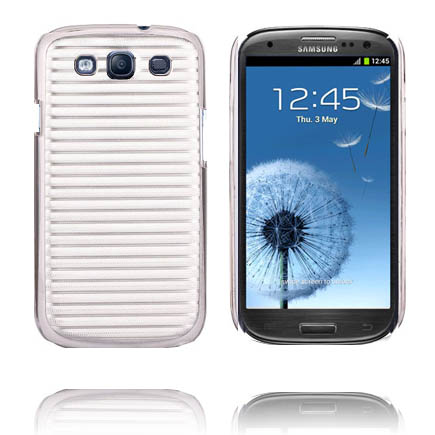 Image of   Alu Back Ver. II (Sølv) Samsung Galaxy S3 Cover
