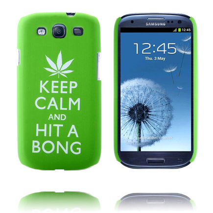 Image of   Party On (Grøn) Samsung Galaxy S3 Cover