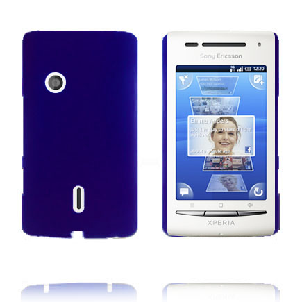 Image of   Hard Shell (Blå) Sony Ericsson Xperia X8 Cover