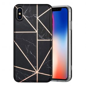 Marble iPhone Xs Max cover - sort