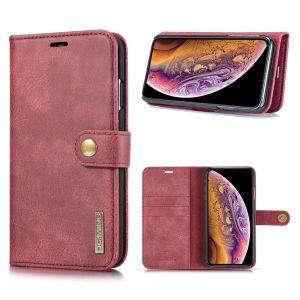 DG.Ming iPhone Xs Max 2-in-1 Pung Etui - Rød
