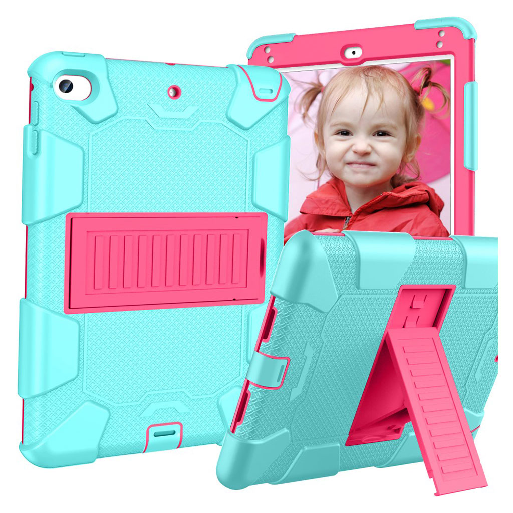 iPad Mini (2019) two-tone hybrid case - Green / Rose