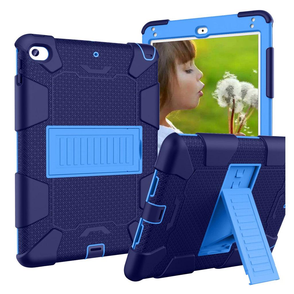 iPad Mini (2019) two-tone hybrid case - Dark Blue / Blue