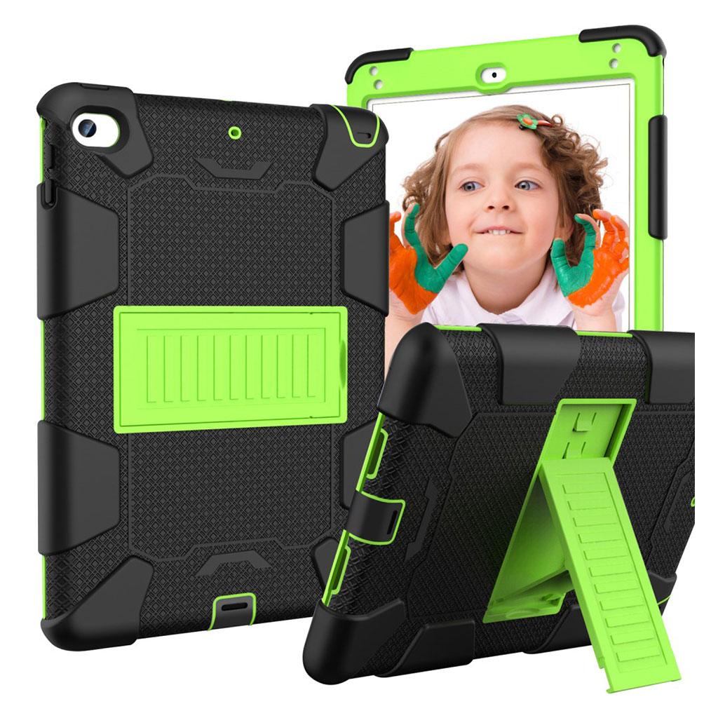 iPad Mini (2019) two-tone hybrid case - Black / Green