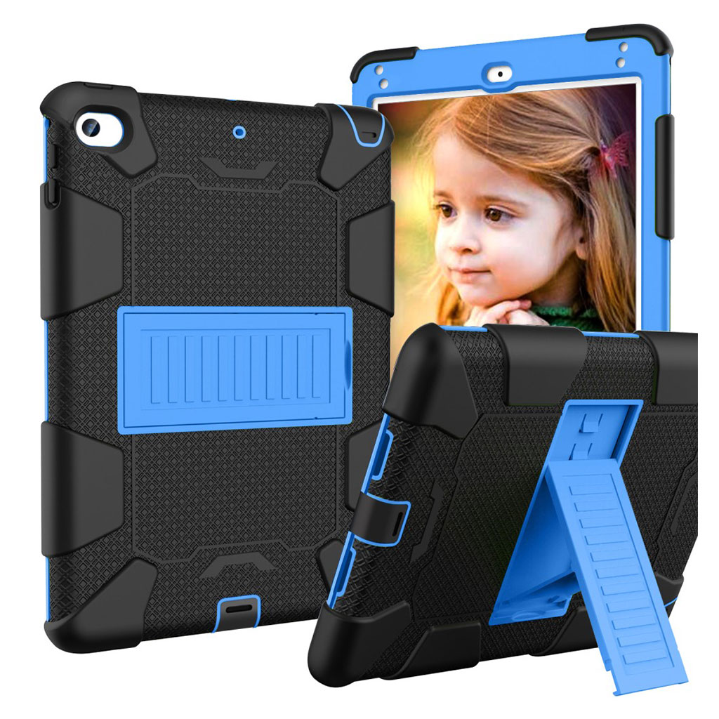 iPad Mini (2019) two-tone hybrid case - Black / Blue