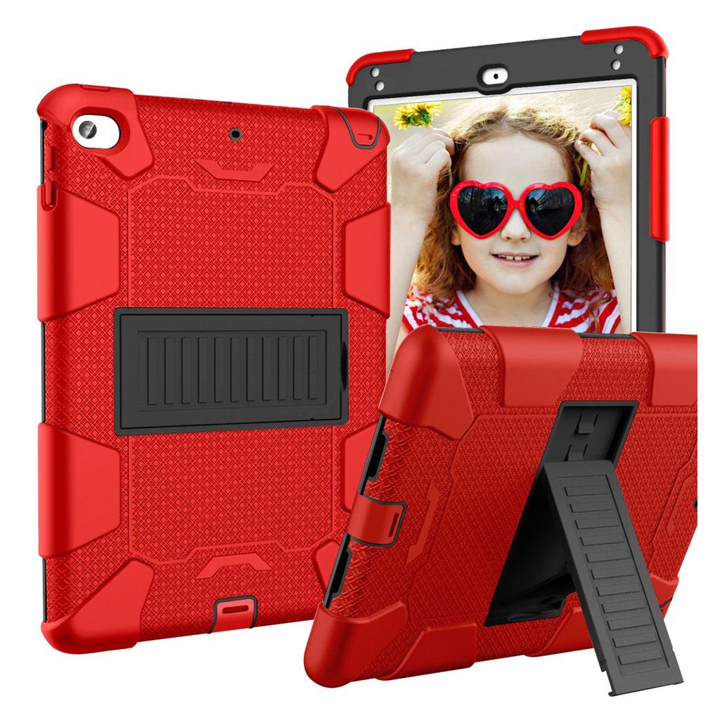 iPad Mini (2019) two-tone hybrid case - Red / Black