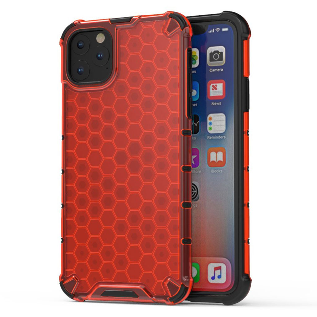 Bofink Honeycomb iPhone 11 Pro Max case - Red