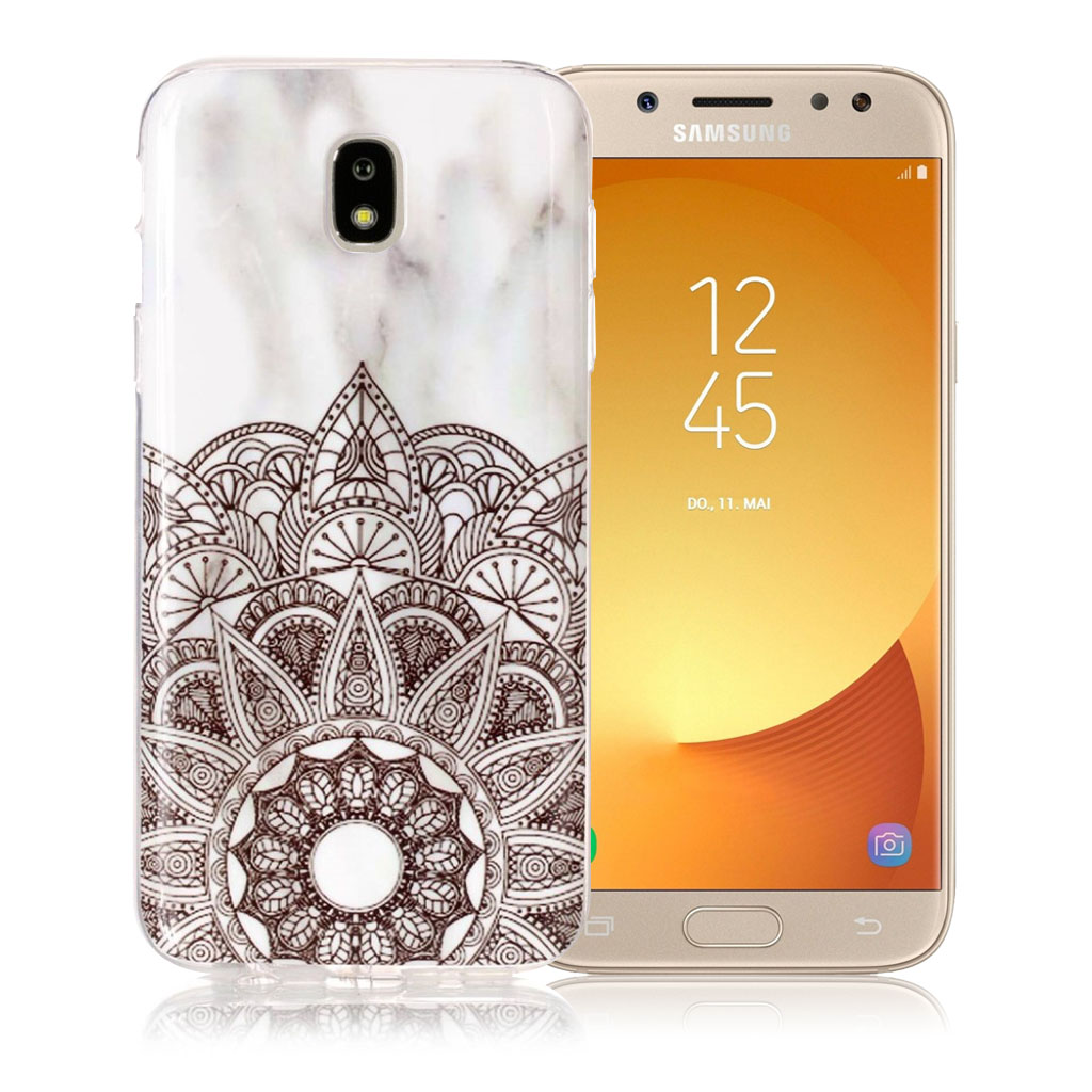 Samsung Galaxy J5 (2017) marble pattern jelly case - Lotus