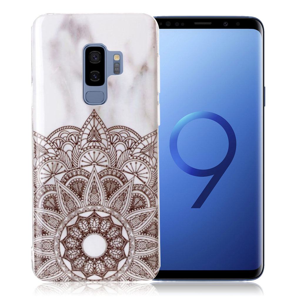 Samsung Galaxy S9 Plus pattern printing soft case - Mandala