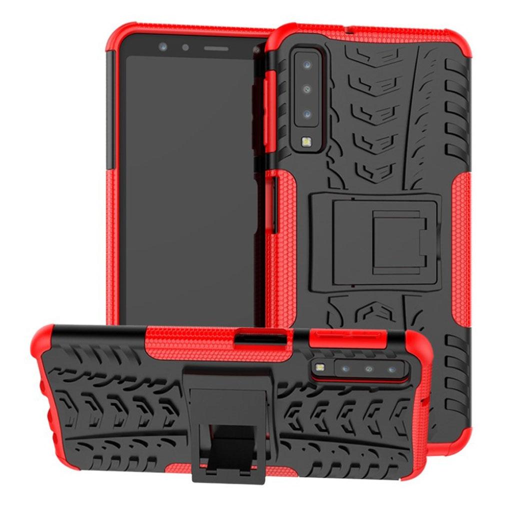 Offroad Samsung Galaxy A7 (2018) case - Red