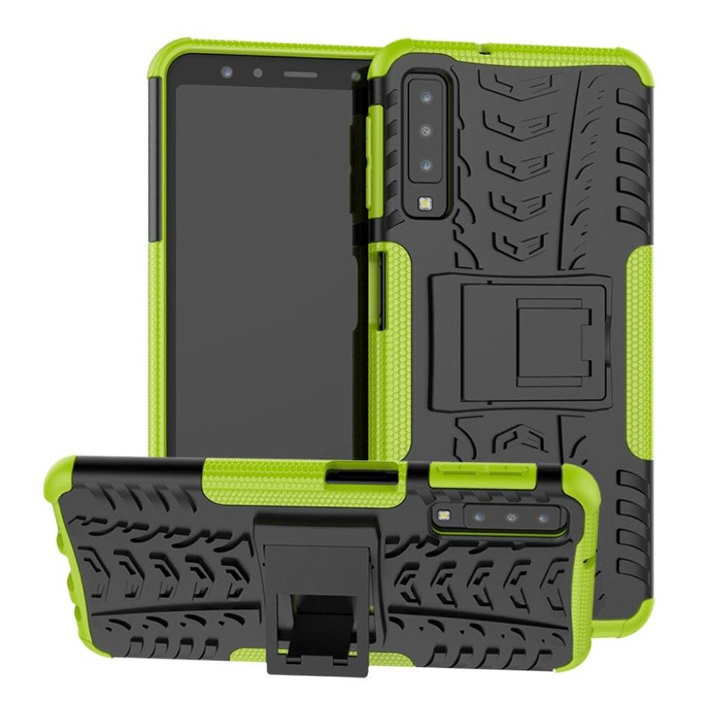 Offroad Samsung Galaxy A7 (2018) case - Green