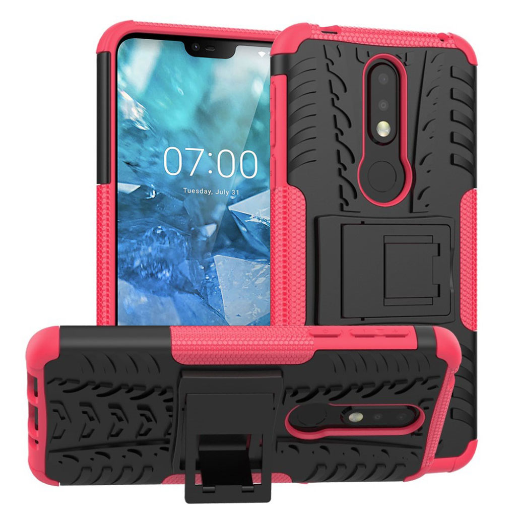 Offroad Nokia 7.1 cover - Rose