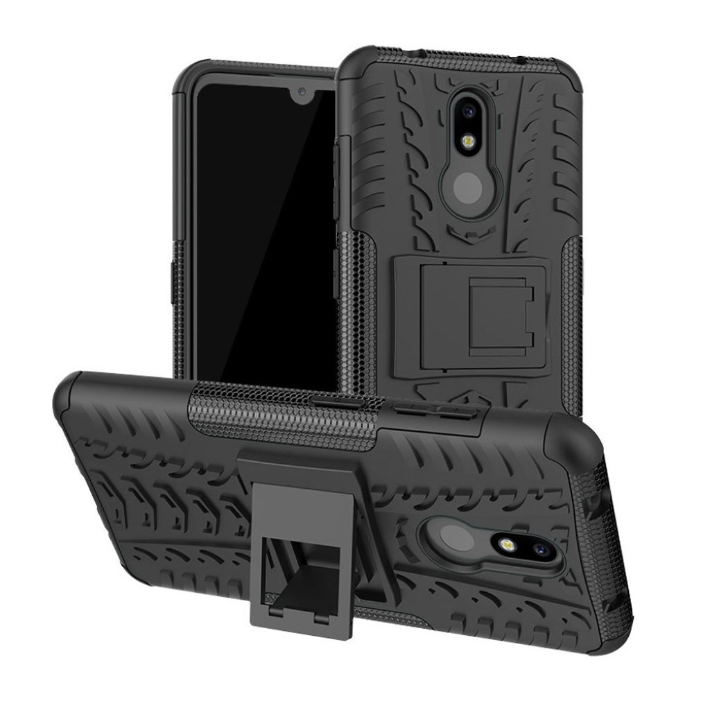 Offroad Nokia 3.2 cover - Sort