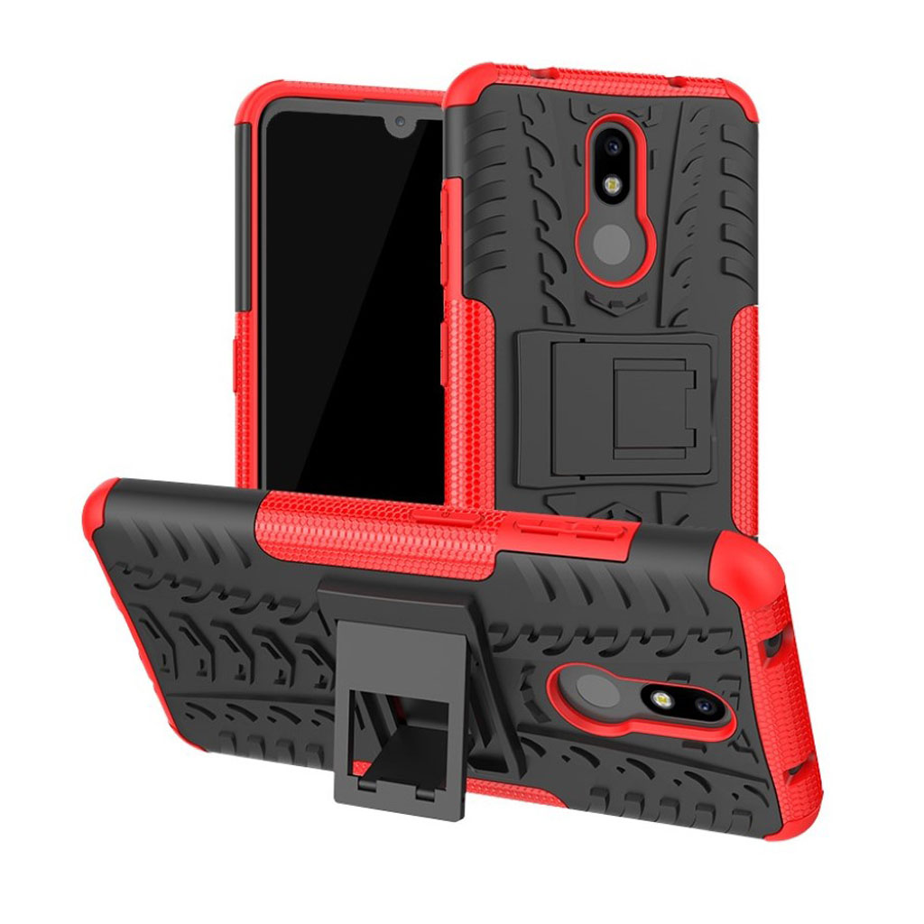 Offroad Nokia 3.2 cover - Rød