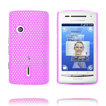 Image of   Atomic (Pink) Sony Ericsson Xperia X8 Cover