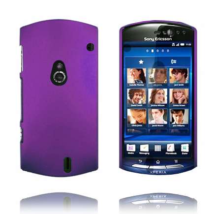 Image of   Hard Shell (Lilla) Sony Ericsson Xperia Neo Cover