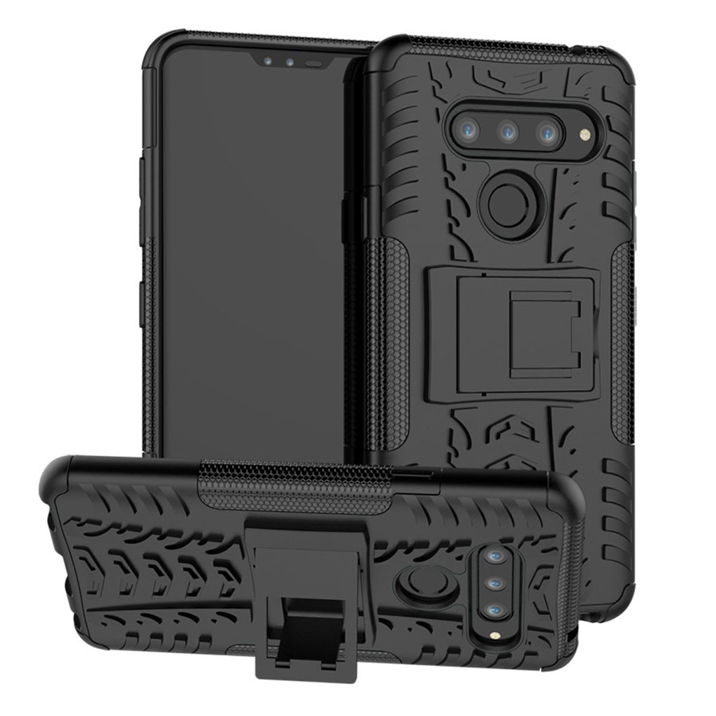 Offroad LG V40 ThinQ cover - Sort