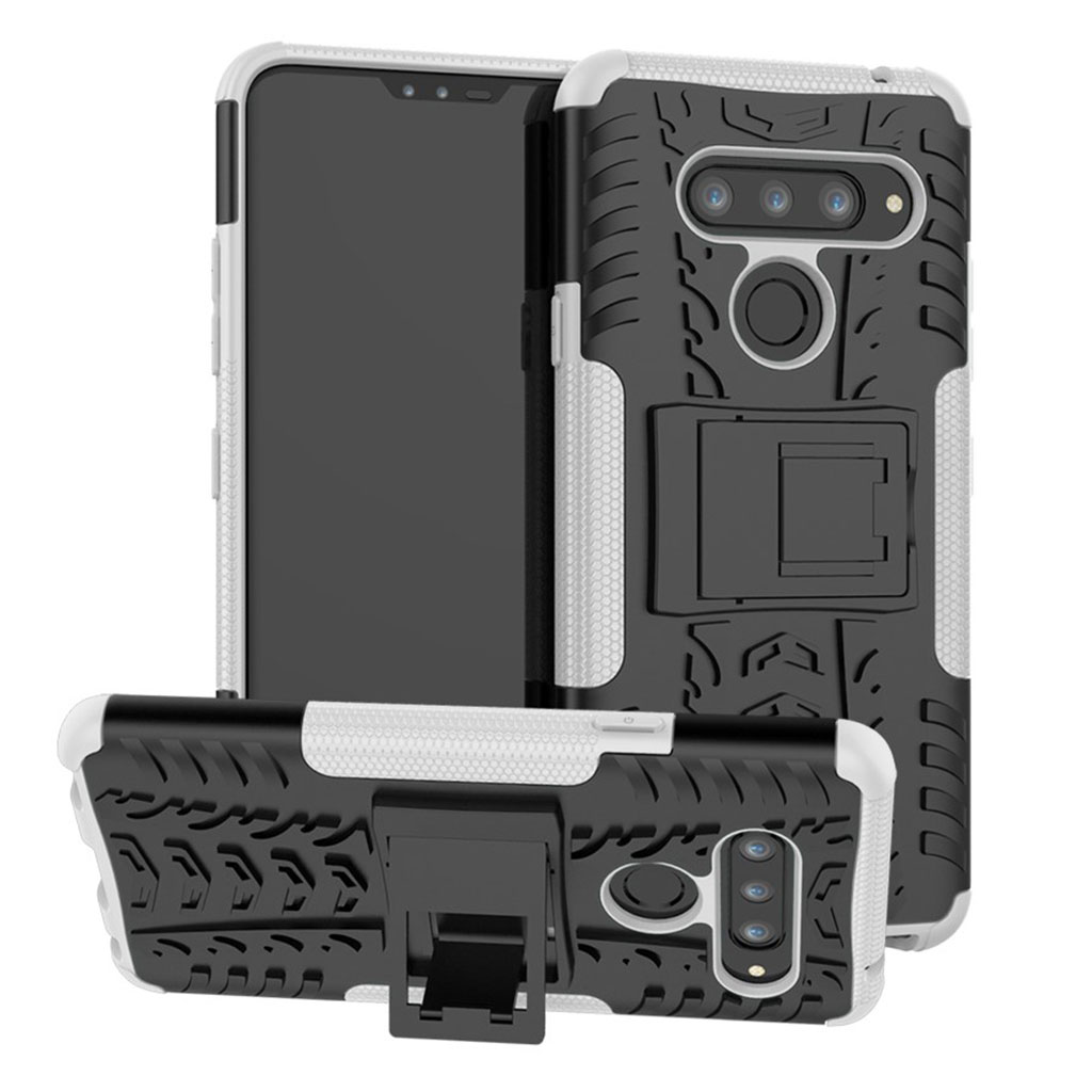 Offroad LG V40 ThinQ cover - Hvid