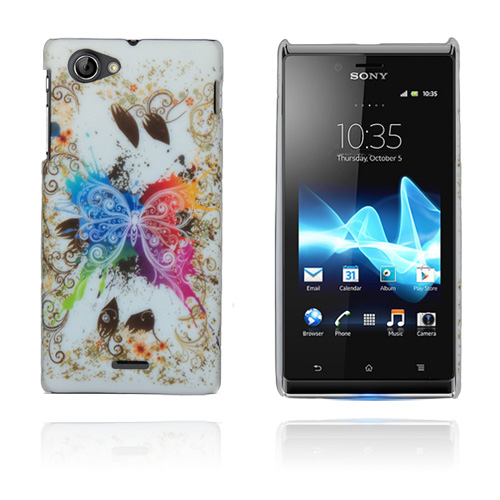 Image of   Flower Power (Stor Sommerful) Sony Xperia J Cover