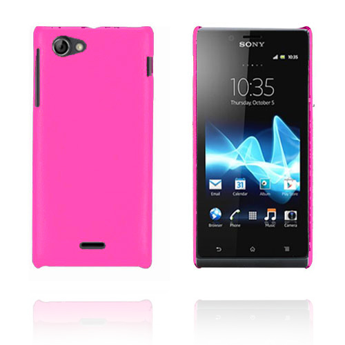 Image of   Alpha (Hot Pink) Sony Xperia J Cover