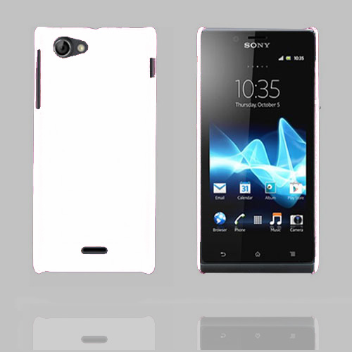 Image of   Alpha (Hvid) Sony Xperia J Cover