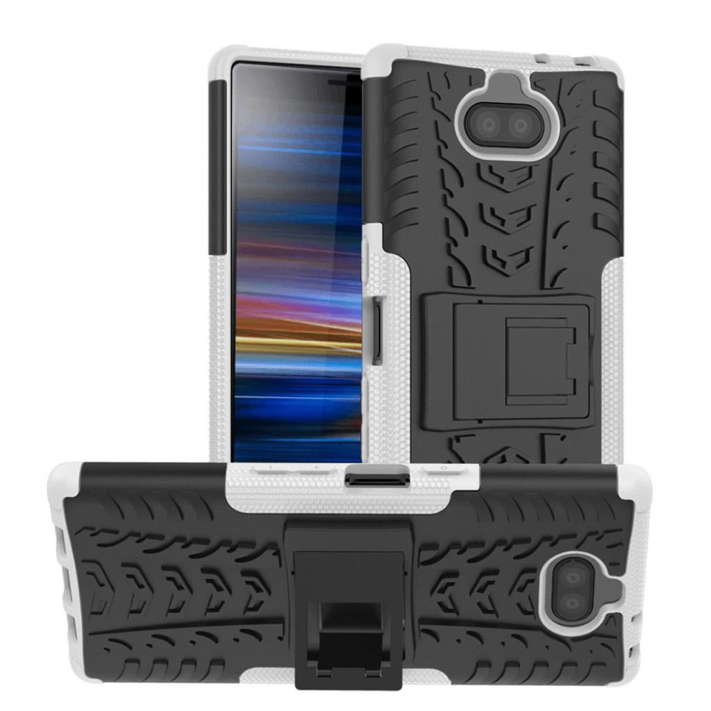 Sony Xperia 10 Plus dæk kombo etui - Hvid