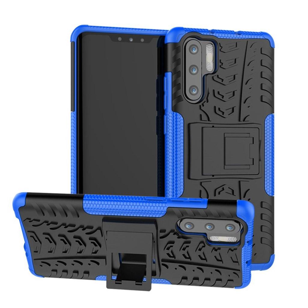 Huawei P30 Pro skridsikkert hybrid etui - Blå