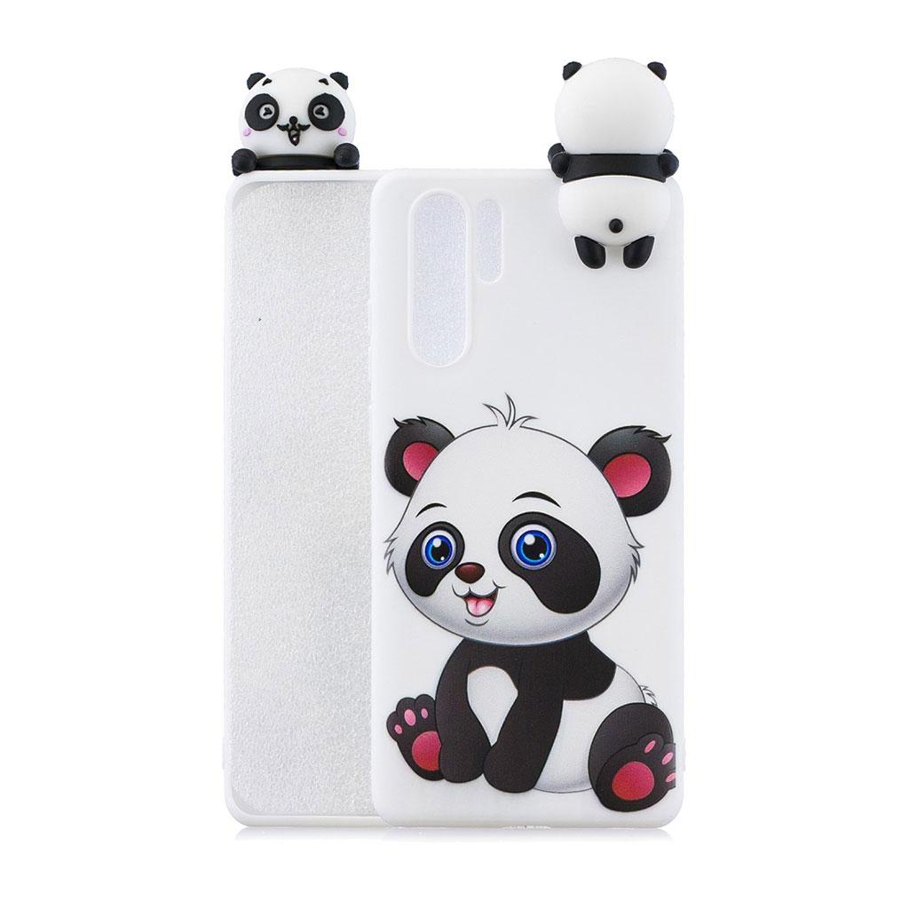 Huawei P30 Pro 3D sødt dukke mønstret etui - Nuttet Panda