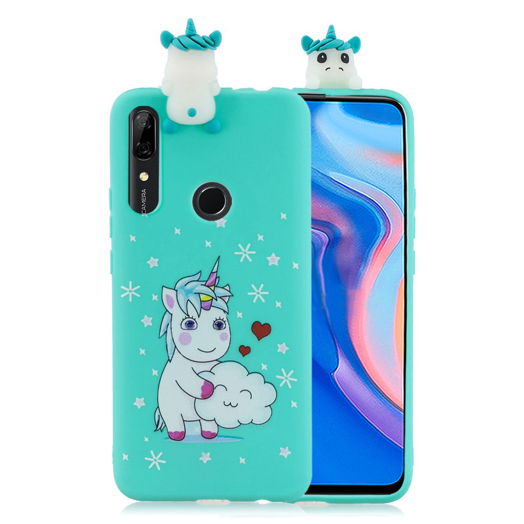 Cute 3D Huawei P Smart Z cover - Enhjørning