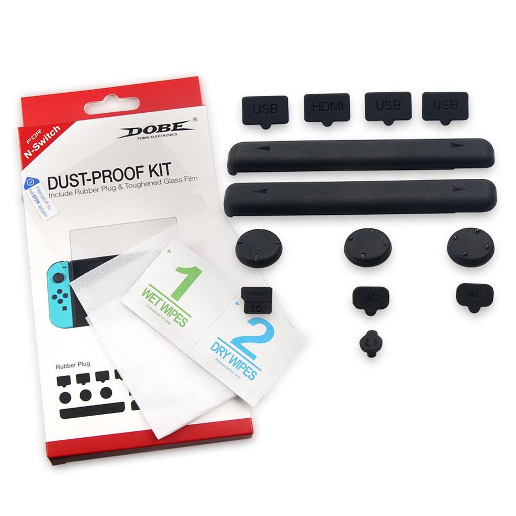 Nintendo Switch gummi støvtæt stik kit