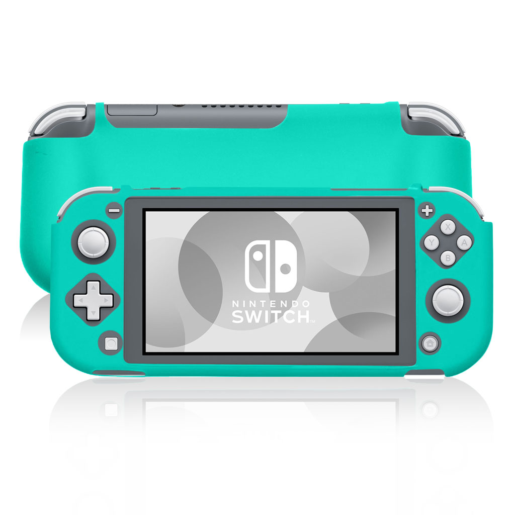 Nintendo Switch Lite durable silicone case - Green
